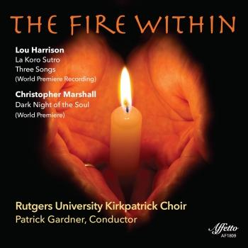 Cover Harrison & Marshall: The Fire Within - Choral Works (Live)
