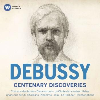 Cover Debussy Centenary Discoveries