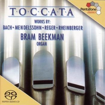 Cover Toccata - 200 Years of German Organ Music