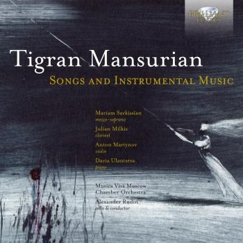 Cover Mansurian: Songs and Instrumental Music
