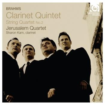 Cover Brahms: Clarinet Quintet String Quartet No.2
