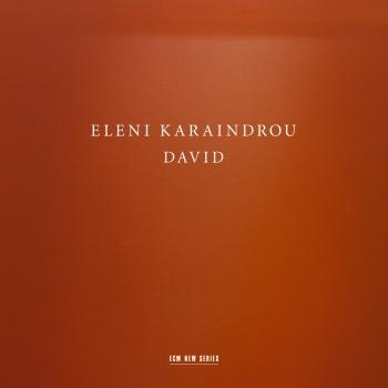 Cover Eleni Karaindrou: David