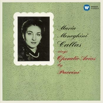 Cover Callas sings Operatic Arias by Puccini - Callas Remastered