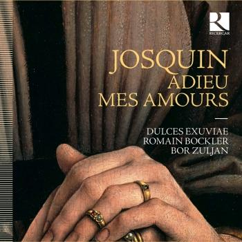 Cover Josquin: Adieu mes amours