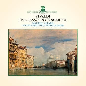 Cover Vivaldi: 5 Bassoon Concertos (Remastered)