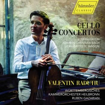 Cover Haydn, Bach & Janson: Cello Concertos