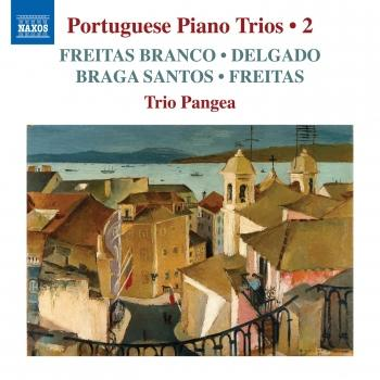 Cover Portuguese Piano Trios, Vol. 2