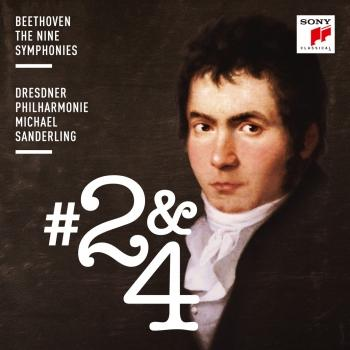 Cover Beethoven: Symphonies Nos. 2 & 4