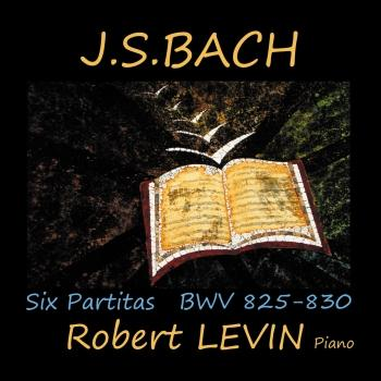 Cover J.S. Bach: Six Partitas, BWV 825-830