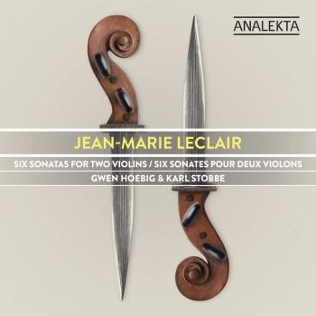 Cover Jean-Marie Leclair: Six Sonatas for Two Violins