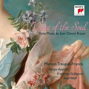 Cover Voice of the Soul - Flute Music by Jean Daniel Braun