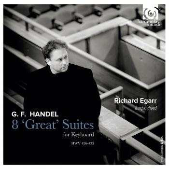 Cover G.F. Handel 8 Great Suites for Keyboard