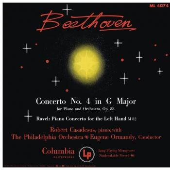 Cover Beethoven: Piano Concerto No. 4 - Ravel: Piano Concerto for the left Hand (Remastered)