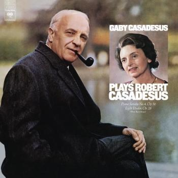 Cover Gaby Casadesus Plays Robert Casadesus (Remastered)