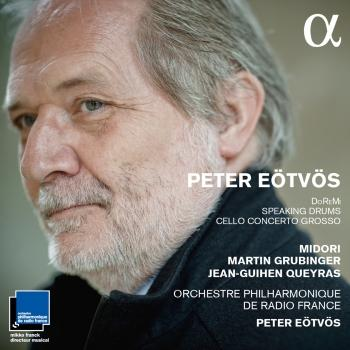 Cover Eotvos: DoReMi, Speaking Drums & Cello concerto grosso