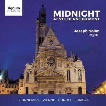 Cover Midnight at St. Etienne du Mont