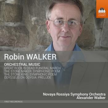 Cover Robin Walker: Orchestral Music