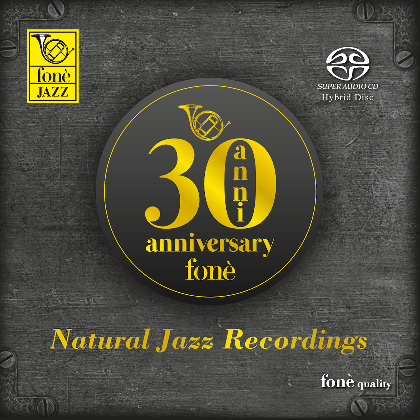 Cover fonè Natural Jazz Recordings (30th Anniversary)