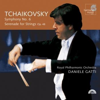 Cover Tchaikovsky: Symphony No. 6, Pathétique; Serenade for Strings op. 48