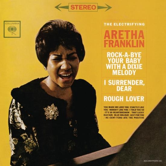 Cover The Electrifying Aretha Franklin