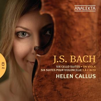 Cover J.S. Bach: Six Cello Suites on Viola