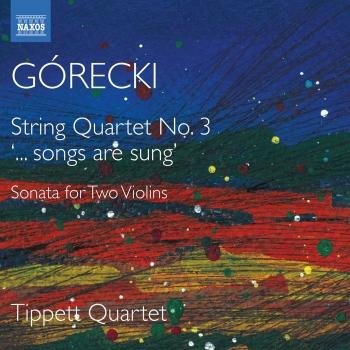 Cover Górecki: String Quartets No. 3, Sonata for 2 Violins