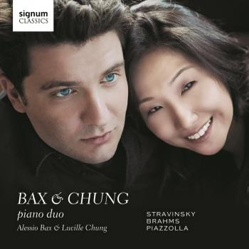 Cover Bax & Chung: Piano Duo - Works by Stravinsky, Brahms and Piazzolla