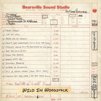 Cover Wild in Woodstock: The Isley Brothers Live at Bearsville Sound Studio (1980)