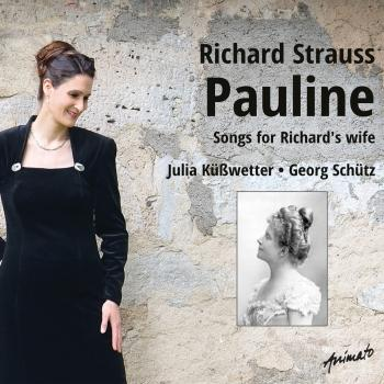 Cover Pauline - Songs for Richard's Wife