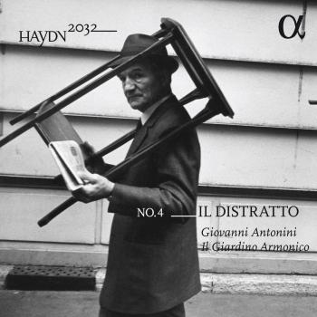 Cover Haydn 2032, Vol. 4: Il distratto