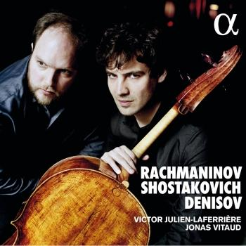 Cover Rachmaninov, Shostakovich & Denisov