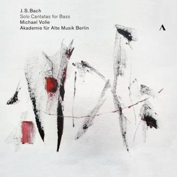 Cover J. S. Bach: Solo Cantatas for Bass