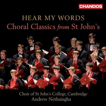 Cover Hear My Words: Choral Classics from St. John's