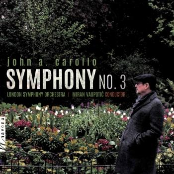 Cover John A. Carollo: Symphony No. 3