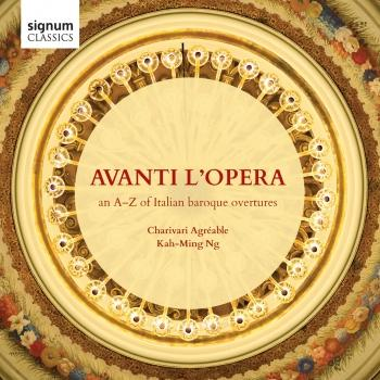 Cover Avanti L'Opera: An A-Z of Italian Baroque Overtures