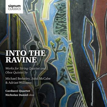 Cover Into the Ravine: Michael Berkeley, John McCabe, Adrian Williams