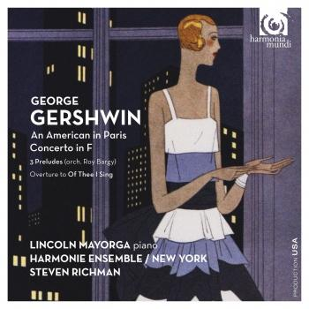 Cover George Gershwin: An American in Paris, Concerto in F