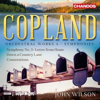Cover Copland: Orchestral Works, Vol. 4