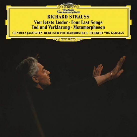 Cover Richard Strauss: Four Last Songs; Orchestral Works (Remaster)