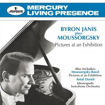 Cover Byron Janis Plays Moussorgsky: Pictures At An Exhibition