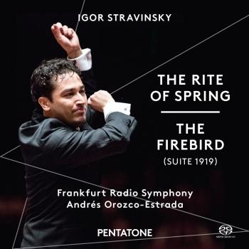 Cover Stravinsky: The Rite of Spring & The Firebird