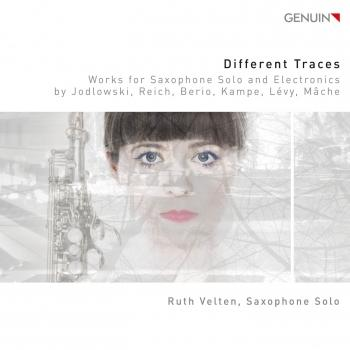 Cover Different Traces (Works for Saxophone Solo and Electronics)