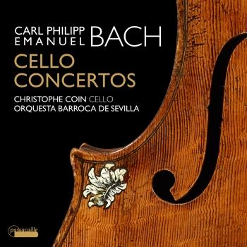 Cover C.P.E. Bach: Cello Concertos - Christophe Coin