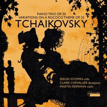 Cover Tchaikovsky: Variations on a Rococo Theme in A Major for Cello and Fortepiano