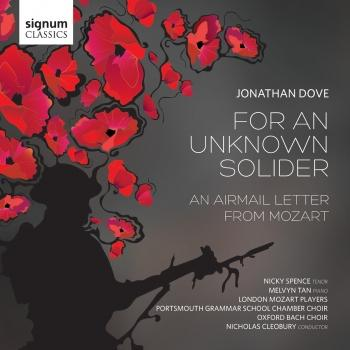 Cover Dove: For An Unkown Soldier