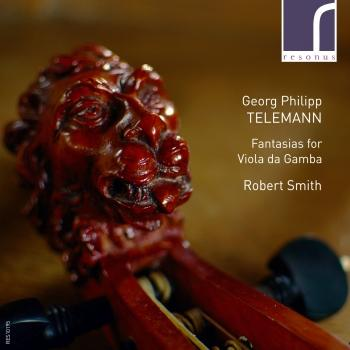 Cover Georg Philipp Telemann: Fantasias for Viola da Gamba