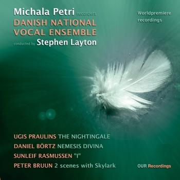 Cover The Nightingale: 4 New Works for Recorder and Choir