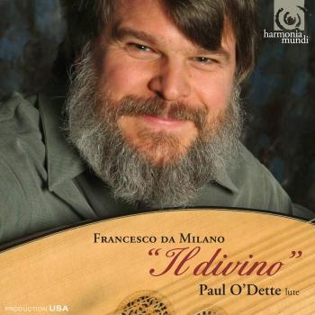 Cover Francesco da Milano Works for lute 'Il divino""