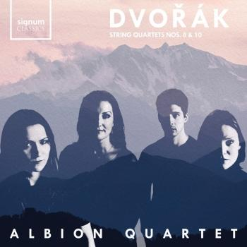 Cover Dvořák String Quartets 8 & 10