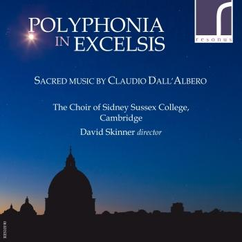 Cover Polyphonia in excelsis: Sacred Music by Claudio Dall'Albero